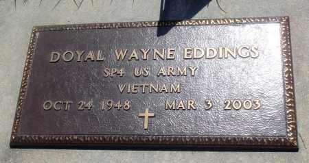 EDDINGS (VETERAN VIET), DOYAL WAYNE - Newton County, Arkansas | DOYAL WAYNE EDDINGS (VETERAN VIET) - Arkansas Gravestone Photos