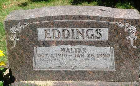 EDDINGS, WALTER - Newton County, Arkansas | WALTER EDDINGS - Arkansas Gravestone Photos
