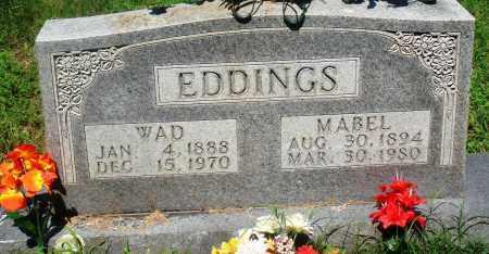 EDDINGS, WAD - Newton County, Arkansas | WAD EDDINGS - Arkansas Gravestone Photos