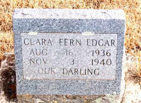 EDGAR, CLARA FERN - Newton County, Arkansas   CLARA FERN EDGAR - Arkansas Gravestone Photos