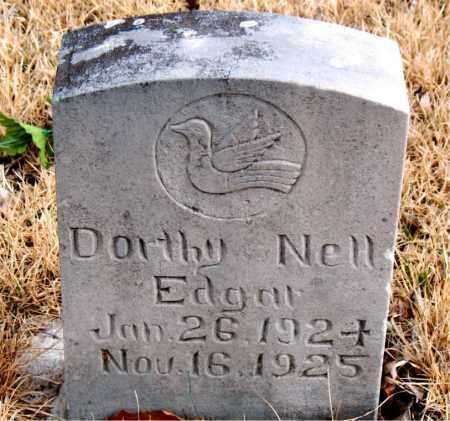 EDGAR, DOROTHY NELL - Newton County, Arkansas | DOROTHY NELL EDGAR - Arkansas Gravestone Photos