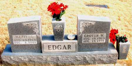 EDGAR, GROVER W. - Newton County, Arkansas | GROVER W. EDGAR - Arkansas Gravestone Photos