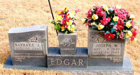 EDGAR, JOSEPH W. - Newton County, Arkansas   JOSEPH W. EDGAR - Arkansas Gravestone Photos