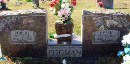 EDGMAN, DESSIE - Newton County, Arkansas | DESSIE EDGMAN - Arkansas Gravestone Photos