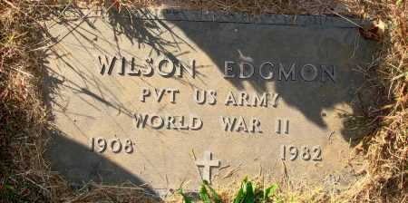 EDGMON  (VETERAN WWII), WILSON - Newton County, Arkansas   WILSON EDGMON  (VETERAN WWII) - Arkansas Gravestone Photos