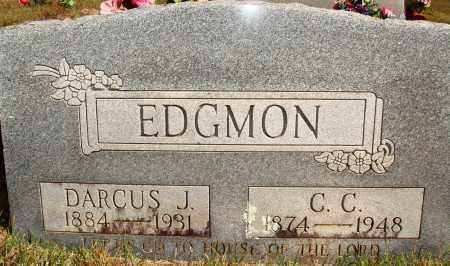 EDGMON, DARCUS J. - Newton County, Arkansas | DARCUS J. EDGMON - Arkansas Gravestone Photos