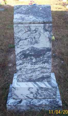 EDGMON, EDWARD - Newton County, Arkansas | EDWARD EDGMON - Arkansas Gravestone Photos