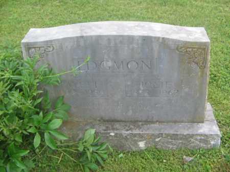 EDGMON, FAYETTE - Newton County, Arkansas | FAYETTE EDGMON - Arkansas Gravestone Photos