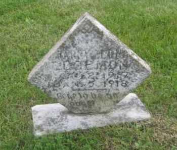 EDGMON, HARRY LEON - Newton County, Arkansas   HARRY LEON EDGMON - Arkansas Gravestone Photos
