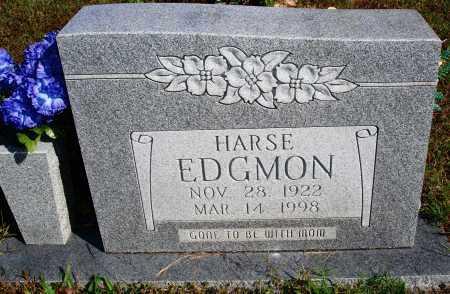 EDGMON, HARSE - Newton County, Arkansas   HARSE EDGMON - Arkansas Gravestone Photos