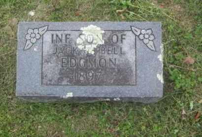 EDGMON, INFANT SON - Newton County, Arkansas | INFANT SON EDGMON - Arkansas Gravestone Photos