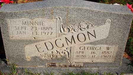 EDGMON, MINNIE - Newton County, Arkansas | MINNIE EDGMON - Arkansas Gravestone Photos