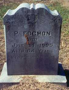 EDGMON, PHILEMON - Newton County, Arkansas   PHILEMON EDGMON - Arkansas Gravestone Photos