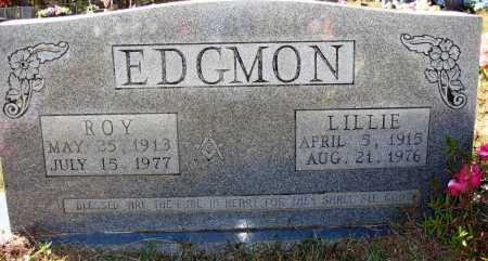 EDGMON, LILLIE - Newton County, Arkansas | LILLIE EDGMON - Arkansas Gravestone Photos