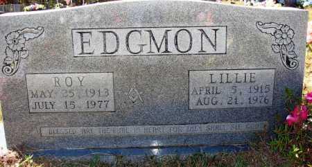 EDGMON, ROY - Newton County, Arkansas | ROY EDGMON - Arkansas Gravestone Photos