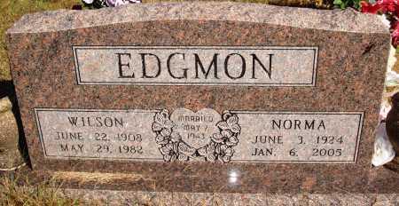 EDGMON, WILSON - Newton County, Arkansas | WILSON EDGMON - Arkansas Gravestone Photos