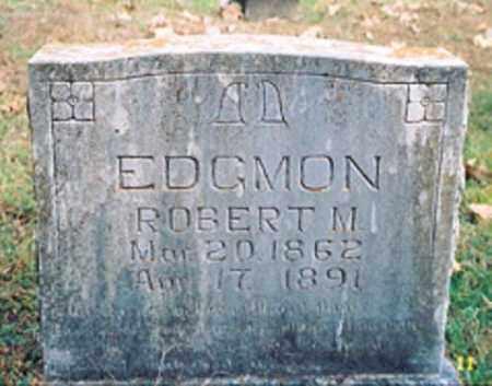 EDGMON, ROBERT M. - Newton County, Arkansas | ROBERT M. EDGMON - Arkansas Gravestone Photos