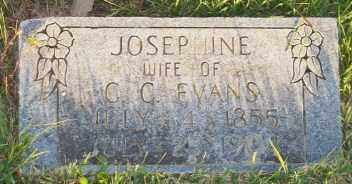 EVANS, JOSEPHINE - Newton County, Arkansas | JOSEPHINE EVANS - Arkansas Gravestone Photos