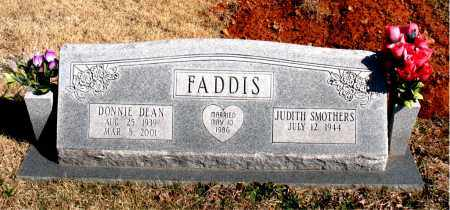 FADDIS, DONNIE DEAN - Newton County, Arkansas | DONNIE DEAN FADDIS - Arkansas Gravestone Photos