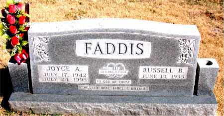 FADDIS, JOYCE A. - Newton County, Arkansas   JOYCE A. FADDIS - Arkansas Gravestone Photos