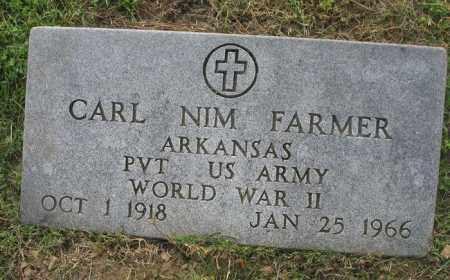 FARMER  (VETERAN WWII), CARL NIM - Newton County, Arkansas | CARL NIM FARMER  (VETERAN WWII) - Arkansas Gravestone Photos