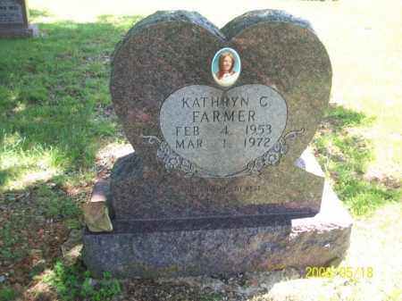 FARMER, KATHRYN C - Newton County, Arkansas | KATHRYN C FARMER - Arkansas Gravestone Photos