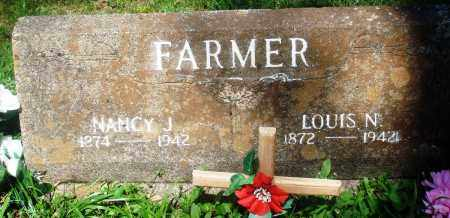 FARMER, LOUIS NAPOLEAN - Newton County, Arkansas | LOUIS NAPOLEAN FARMER - Arkansas Gravestone Photos