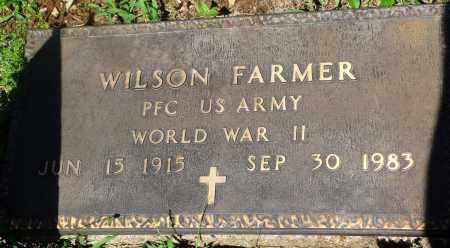 FARMER (VETERAN WWII), WILSON - Newton County, Arkansas | WILSON FARMER (VETERAN WWII) - Arkansas Gravestone Photos