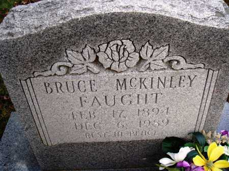 FAUGHT, BRUCE MCKINLEY - Newton County, Arkansas | BRUCE MCKINLEY FAUGHT - Arkansas Gravestone Photos