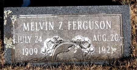FERGUSON, MELVIN Z. - Newton County, Arkansas | MELVIN Z. FERGUSON - Arkansas Gravestone Photos