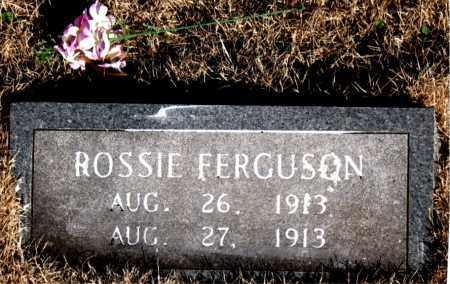 FERGUSON, ROSSIE - Newton County, Arkansas | ROSSIE FERGUSON - Arkansas Gravestone Photos