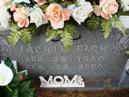 FISK, JACKIE - Newton County, Arkansas | JACKIE FISK - Arkansas Gravestone Photos