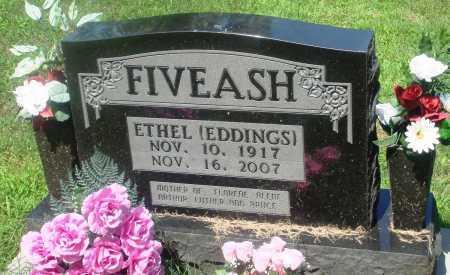 FIVEASH, ETHEL - Newton County, Arkansas | ETHEL FIVEASH - Arkansas Gravestone Photos