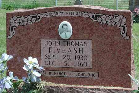 FIVEASH, JOHN THOMAS - Newton County, Arkansas | JOHN THOMAS FIVEASH - Arkansas Gravestone Photos