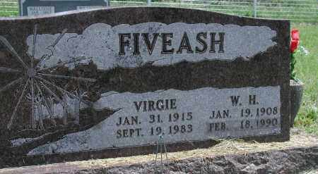 FIVEASH, VIRGIE - Newton County, Arkansas | VIRGIE FIVEASH - Arkansas Gravestone Photos