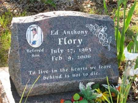 FLORY, ED ANTHONY - Newton County, Arkansas | ED ANTHONY FLORY - Arkansas Gravestone Photos