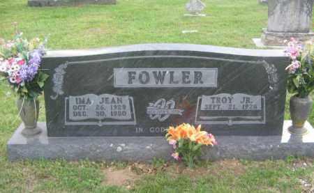 FOWLER  JR, TROY - Newton County, Arkansas | TROY FOWLER  JR - Arkansas Gravestone Photos