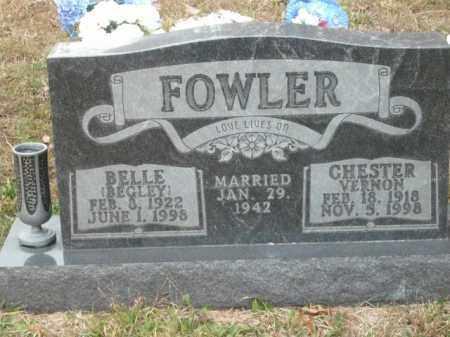 FOWLER, CHESTER VERNON - Newton County, Arkansas | CHESTER VERNON FOWLER - Arkansas Gravestone Photos