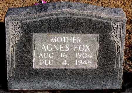 FOX, AGNES - Newton County, Arkansas | AGNES FOX - Arkansas Gravestone Photos