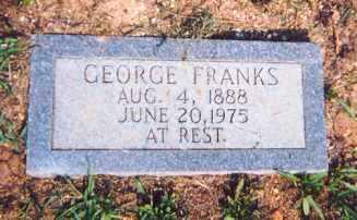 FRANKS, GEORGE - Newton County, Arkansas | GEORGE FRANKS - Arkansas Gravestone Photos