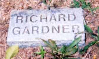 GARDNER, RICHARD - Newton County, Arkansas   RICHARD GARDNER - Arkansas Gravestone Photos