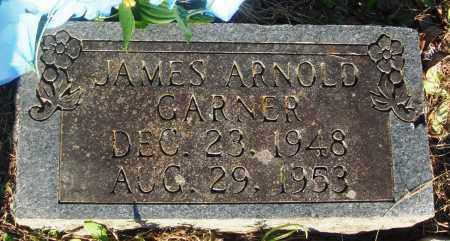 GARNER, JAMES ARNOLD - Newton County, Arkansas | JAMES ARNOLD GARNER - Arkansas Gravestone Photos