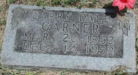 GARNER, LARRY DALE - Newton County, Arkansas   LARRY DALE GARNER - Arkansas Gravestone Photos