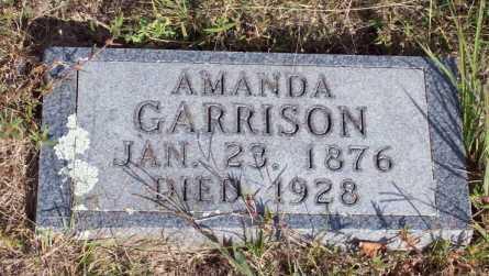 GARRISON, AMANDA - Newton County, Arkansas | AMANDA GARRISON - Arkansas Gravestone Photos