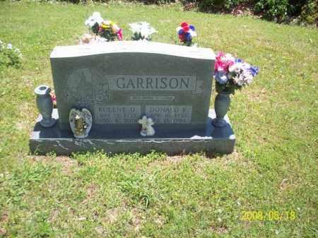 GARRISON, EULENE O - Newton County, Arkansas | EULENE O GARRISON - Arkansas Gravestone Photos