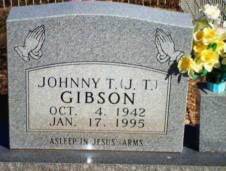 "GIBSON, JOHNNY T. ""J. T."" - Newton County, Arkansas | JOHNNY T. ""J. T."" GIBSON - Arkansas Gravestone Photos"