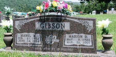 GIBSON, MABEL M - Newton County, Arkansas | MABEL M GIBSON - Arkansas Gravestone Photos