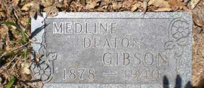 DEATON GIBSON, MEDLINE - Newton County, Arkansas | MEDLINE DEATON GIBSON - Arkansas Gravestone Photos