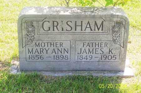 GRISHAM, JAMES K. - Newton County, Arkansas | JAMES K. GRISHAM - Arkansas Gravestone Photos
