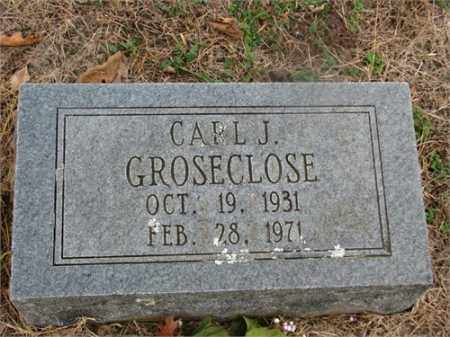 GROSECLOSE, CARL J. - Newton County, Arkansas | CARL J. GROSECLOSE - Arkansas Gravestone Photos